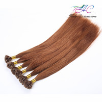 Fashion Style 100 Unprocessed Human Hair Omber Color U Tip / Nail Tip Hair Extension Wholesale