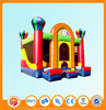 Lovely Cartoon Design Inflatable Bounce House with Air Pumps