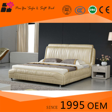 Modern design bedroom furniture folding beds, leather furniture with low price in living room
