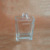 30ml 1 oz transparent square flask glass perfume scent fragrance bottle
