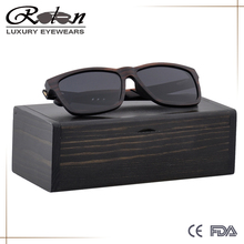 YC-045 New Arrivals 2018 Anti-broken Wooden Frame Protection UV400 Sunglasses Mens