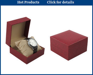 New Design Costomized White Luxury Watch Box for Gift