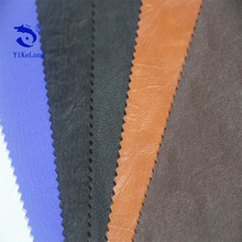 Soft Upholstery Sofa Fabric Semi PU Leather For Tent