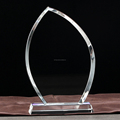 blank crystal plaque crystal trophy SN-A-11256