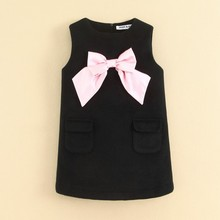 Wool children clothing wool kids clothing wool dress for kids