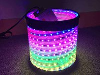 Battery Powered LED Rope Light Magic Color Flexible Strip Light 24V Constant Current Light