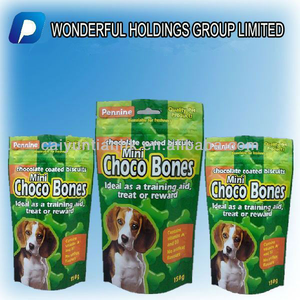 retort pouch for dog food packaging,2013 Hot !!!dog food packaging