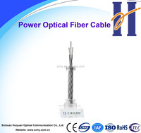 Power fiber optic cable OPGW 24 core optic fiber cable