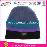 New Coming Winter Beanie Hat/Custom Mens Cartoon Knitted Hat