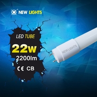 TUV SAA ETL CE certificated SMD patend isolated power supply neon led tube