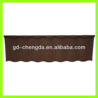 2013 stone granule coated roof tile material / roof canopy material