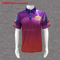 Fashion custom polo shirt dye sublimation polo shirt