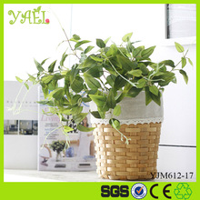 flower arrangement supplies 42CM Height 5 branches artificial leaves for decoration