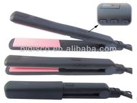 Hot sale!!! Professional Alumina ceramic plates jet black LCD hair straightener