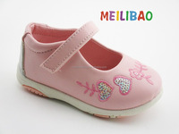 High quality and fashion leather Baby girl shoe