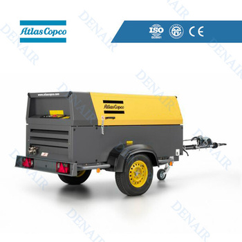 58KW XAS 137 Atlas Copco Portable Air Compressor