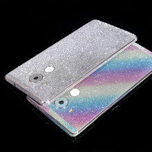Full Body Glitter Shiny Phone Sticker Matte Screen Protector for Huawei Honor 3X