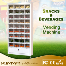 Book and skirt vending machine, combo dispenser with glass front