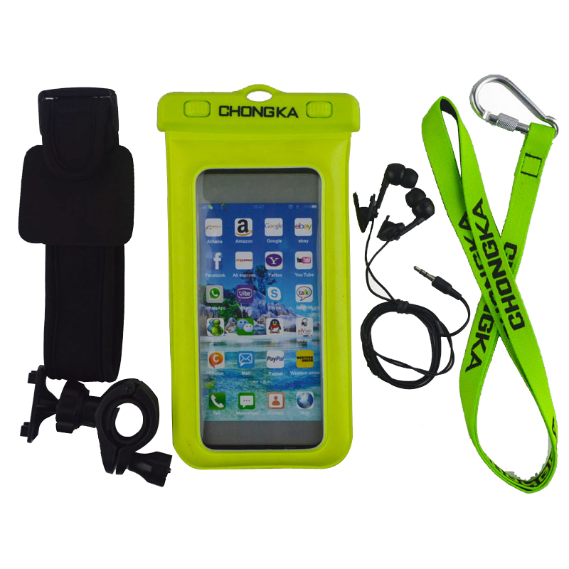 dry bag waterproof mobile phone case for samsung galaxy pocket