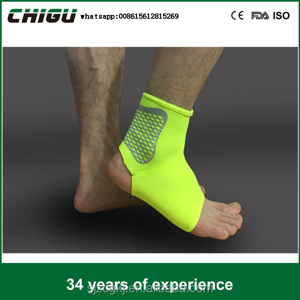 OEM Breathable Plastic Protective Ankle Brace For Sports