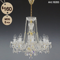 Rock Crystal Chandelier with 8 Light