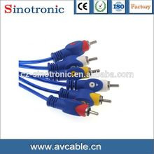 easy to install av video cable for ipad 3 and iphone 4 ios 8 support all one year warranty
