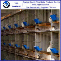 Supply high quality good quality cheap used rabbit cages/Portable rabbit cage (Factory)