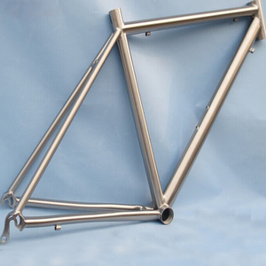New design titanium road bicycle frame with SGS certificate