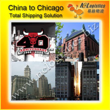 Sea freight Service to Chicago competitive shipping rates