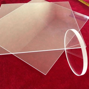 Custom-made all dimension quartz plate transparent uv quartz glass plate quartz crystal plate