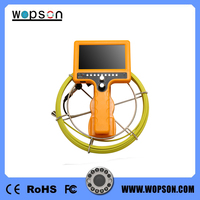 Professional Crawler Pipe Inspection Camera with DVR