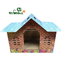Price wholesale and recycle cardboard cat scratchers pet toy