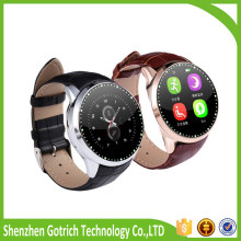 new product touch screen outdoor mobile phone touch screen LED rubber sport wirst smart watch phone