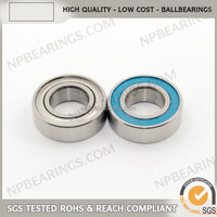 High performance miniature low noise ball bearing for ceiling fan 6209zz