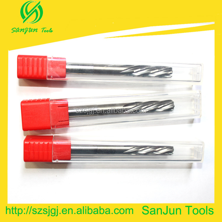HRC45 10*130L Carbide reamer H7 drill reamer