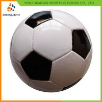 Factory Supply good quality kids pvc leather soccer ball from China