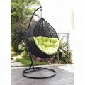 Factory Bottom Price rattan outdoor chair furniture Hanging Egg Chairs For Bedrooms