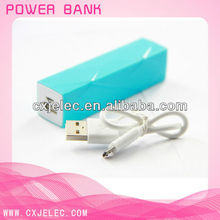 fashion stripe design small fast charging power bank