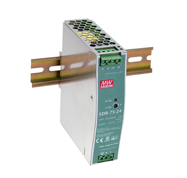 [Powernex] Mean Well EDR-75-24 75W Industrial DIN RAIL Power Supply