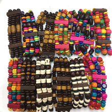 Cheap African Wooden Bead Bracelet