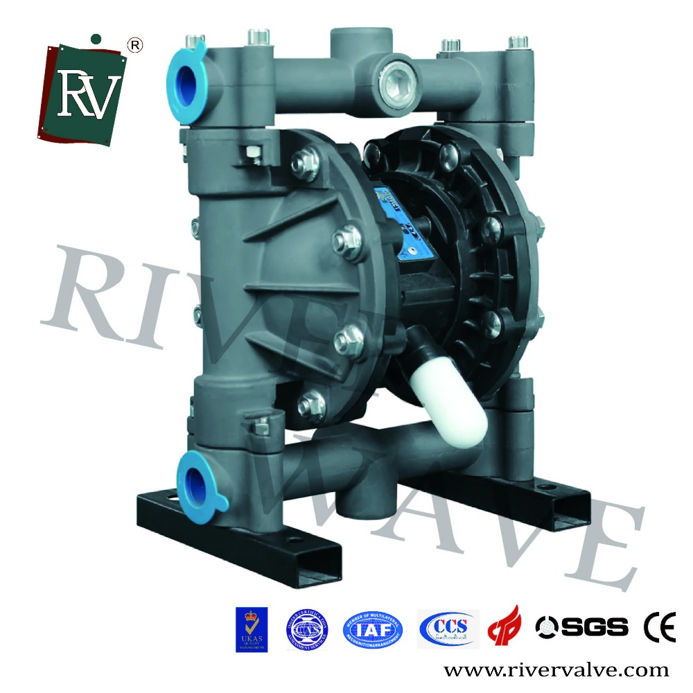 Double Diaphragm Sand Suction Aluminum Pump