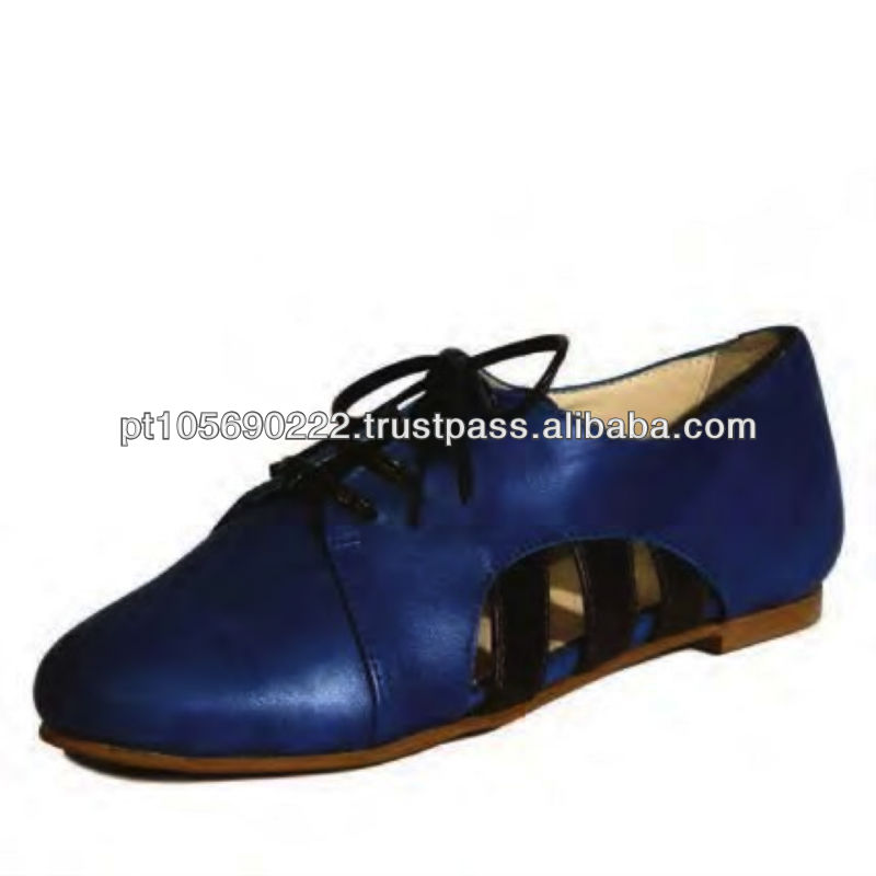 Shoes in leather Oxido 9608