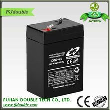 6v4.5ah 20hr rechargeable battery