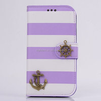Rainbow Sea Rover Leather Flip Stand Full Body Case for Samsung Galaxy S3 Mobile Phone Bag Cover with Card Slot