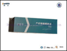 Perineal cold pads 10x28cm OEM package in color box
