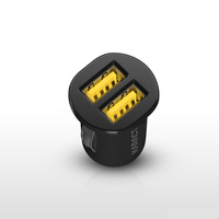Super Mini 2A Mobile Phone Double USB Car Charger