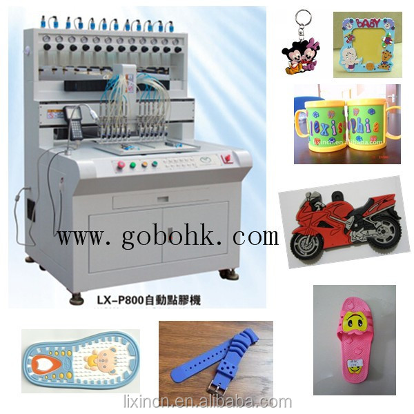 12- colors high efficient small plastic product making machine