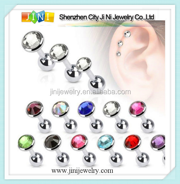 unique tragus jewelry