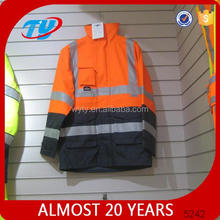 TY32 red reflective safety workwear jacket
