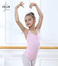 Kids' Sleeveless Gymnastic Ballet Leotard Dance Wear For Girls